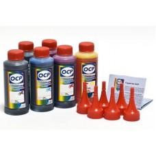 Комплект чернил ОСР для CAN 6340 new (BKP235, Grey 130, BK/M/Y135,C712), 70 g x6