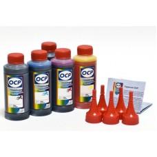 Комплект чернил ОСР для CAN G1400/2400/3400 (BKP230x2, C/M/Y167), 70 g x5