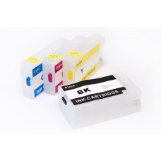 Комплект заправляемых картриджей для Canon MAXIFY MB2040/2340 с чипами