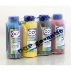 Комплект чернил OCP для Epson Dura Brite x 5 (BKP/CP 115, MP/YP 102, RSL) с промывочной жидкостью