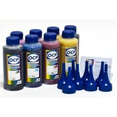 Комплект чернил OCP для Epson R1900/2000 x8 (EGO, BKP110/111, CP110, YP116, RP110, MP110, OP 110)