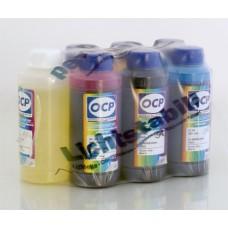 Комплект чернил OCP для Epson R200 x7 (BK 73, C 76, CL 77, M 72, ML 73, Y 61, RSL) с промывочной жид