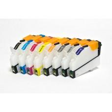 Картриджи BURSTEN NANO 2 для Epson R800 (T540- T544, Т547- Т549) x8