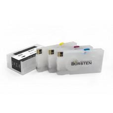 Комплект картриджей BURSTEN Nano для HP 8100/8600 950/951 x4 с чипами