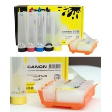 CISS for Canon, СНПЧ для Canon iP3600/4600 (PGI-520Bk CLI-521) (80 ml) без чипа CHERNIL.NET