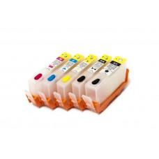 Картриджи для HP №178 (x5) с чипами