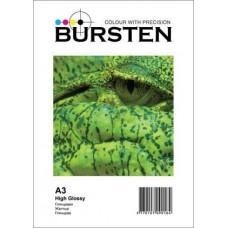 Фотобумага А3 Глянцевая 180 (50 листов) BURSTEN